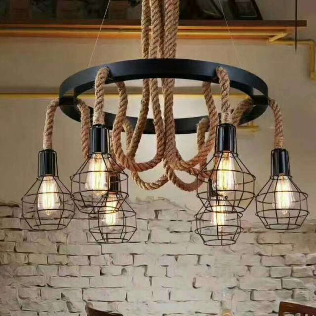 Pendant Light Hemp Rope Suppliers