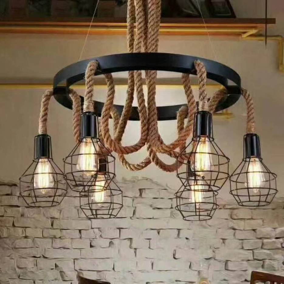 Pendant Light Hemp Rope Suppliers