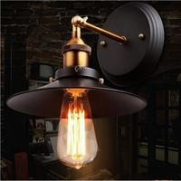SG49-01 Iron Rustic pipe wall lamp